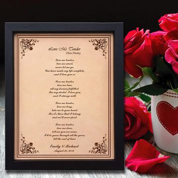 Lik16 Leather Engraved Wedding Third Anniversary Gift Personalized Anniversary Gift wedding First Dance Lyrics