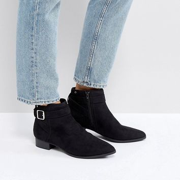 Call It Spring Luscar Flat Ankle Boots at asos.com