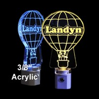 Hot Air Balloon LED Night Light, Personalized