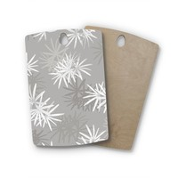 Julia Grifol Birchwood Paradise Flowers Digital Cutting Board