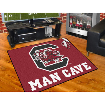 "Fan Mats South Carolina Man Cave All Star Mat 34""X45"""