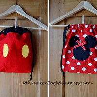 1-Mickey or Minnie Mouse Back Pack