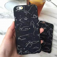 Nicole Starry Night iPhone Case