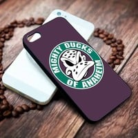 Anaheim Ducks 3 Iphone 4 4s 5 5s 5c 6 6plus 7 case / cases