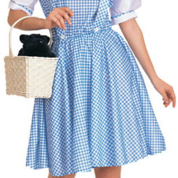 Women's Costume: Wizard of OZ Dorothy | Large