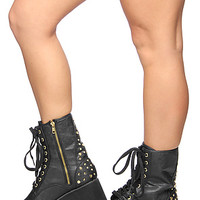 The Bloq E.R. Boot in Black