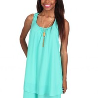 Beat The Heat Mint Ruffle Dress | Monday Dress Boutique