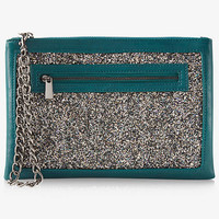 Glitter Chain Wristlet from EXPRESS