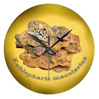 Leopard gecko design for all! wallclock