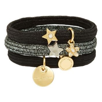 MARC BY MARC JACOBS Set of 3 Charm Ponytail Holders | Nordstrom