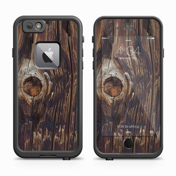 Wooded Telephone Pole Skin for the Apple iPhone LifeProof Fre Case