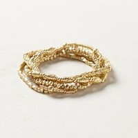 Eclat Bracelet by Anthropologie Gold One Size Bracelets
