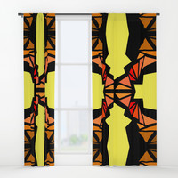 Composition1 The Path Window Curtains by edrawings38