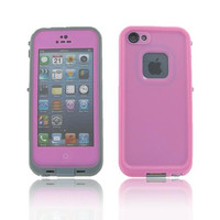 iPhone 5S/ 5 Pink Water Proof Case