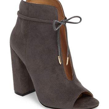Daya by Zendaya Netty Open Toe Bootie (Women) | Nordstrom