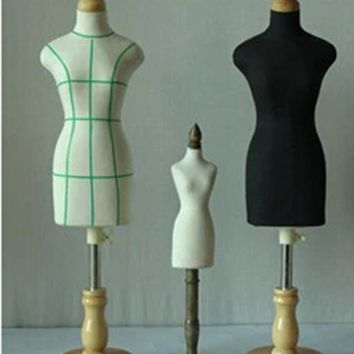 New 1pc FEMALE woman mannequin sewing for clothes,manequim busto dress form stand1:2 scale Jersey bust,Mini small size.M00020H