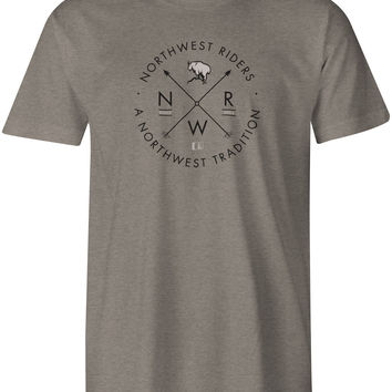 Billy T-Shirt Stone Grey