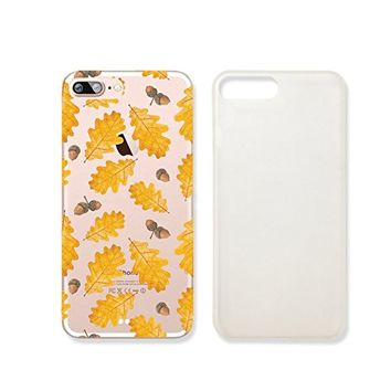 Autumn Leaves Clear Transparent Plastic Phone Case/ PhoneCover for Iphone 7_ SUPERTRAMPshop (iphone 7)