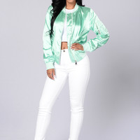 Ride The Wave Jacket - Mint