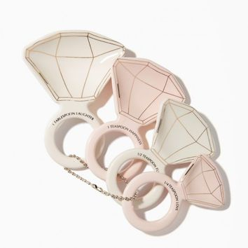 Diamond Ring Measuring Spoon Set | Charming Charlie