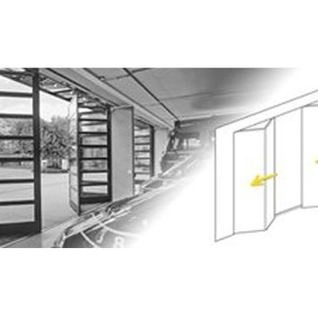 DRIVE MECHANISM FOR SLIDING DOORS DRIVE MECHANISMS FOR FOLDING DOOR LEAVES | GILGEN DOOR SYSTEMS