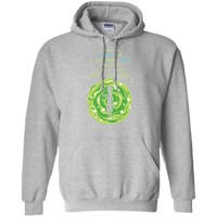 Sometimes science is a lot more art, than science. t shirt-01 G185 Gildan Pullover Hoodie 8 oz.