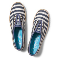Keds Shoes Official Site - Champion Washed Stripe Jute