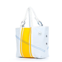 The Dune Rd. Sailcloth Beach Tote - Slicker Yellow