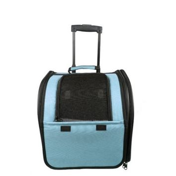 Pet Life Wheeled Airline Approved Travel Pet Carrier - Walmart.com