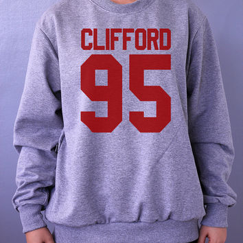 CLIFFORD 95 Sweatshirt Sweater Crew neck Shirt – Size S M L XL