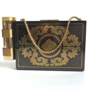 Vintage Compact Carryall by Zell