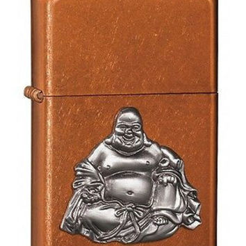 unique quality Buddha Toffee & Silver Colored Zippo cigarette Lighter
