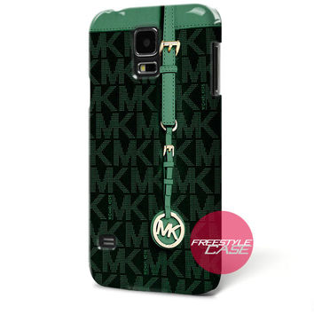 Michael Kors MK Bag Dark Green Samsung Galaxy Case Cover Series
