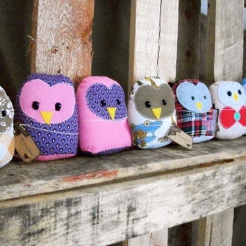 Owl Plush- Stuffed Owl- Owl Plush Toy