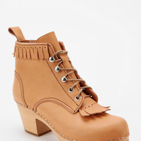 Urban Outfitters - Swedish Hasbeens For UO Jungle Fringe Ankle Boot