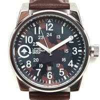 Field & Research Leather Band Watch by LRG