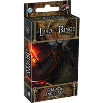 The Lord of the Rings LCG: Shadow and Flame Adventure Pack