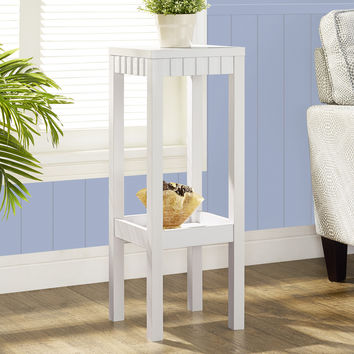 """White 32""""H Plant Stand"""