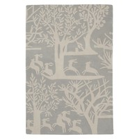Kids Rugs: Wool Forest Scene Rug in Patterned Rugs | The Land of Nod