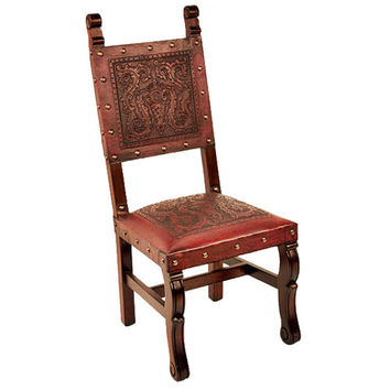 New World Trading SHC10RED Spanish Heritage Red Chair
