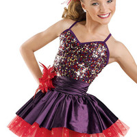 Confetti Sequin Camisole Dress; Weissman Costumes