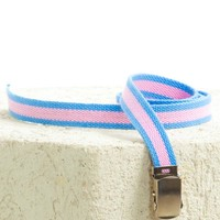 Vintage 90's Pastel Slide Belt - One Size Fits Many