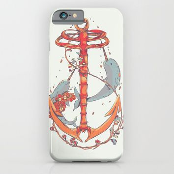 Under The Sea iPhone & iPod Case by Huebucket