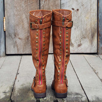 The Freestone Boots in Oak