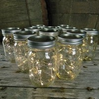 Battery Fairy Lights for Mason Jars, Center Pieces, Craft and Flower Arrangements