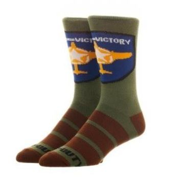 Call of Duty Wings For Victory Crew Socks