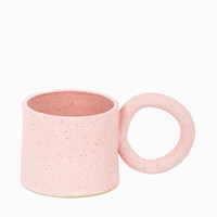 TACTILE MATTER FOR SAINT HERON RING HANDLE MUG - PINK