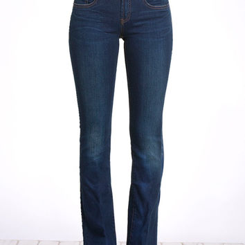 HENRY & BELLE Micro Flare Jeans in Superior Wash