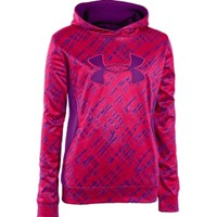 Under Armour Girls' Printed Big Logo Hoodie - Dick's Sporting Goods