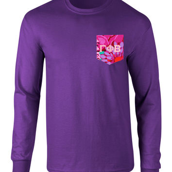 Gamma Phi Beta Long Sleeve Pocket Tee